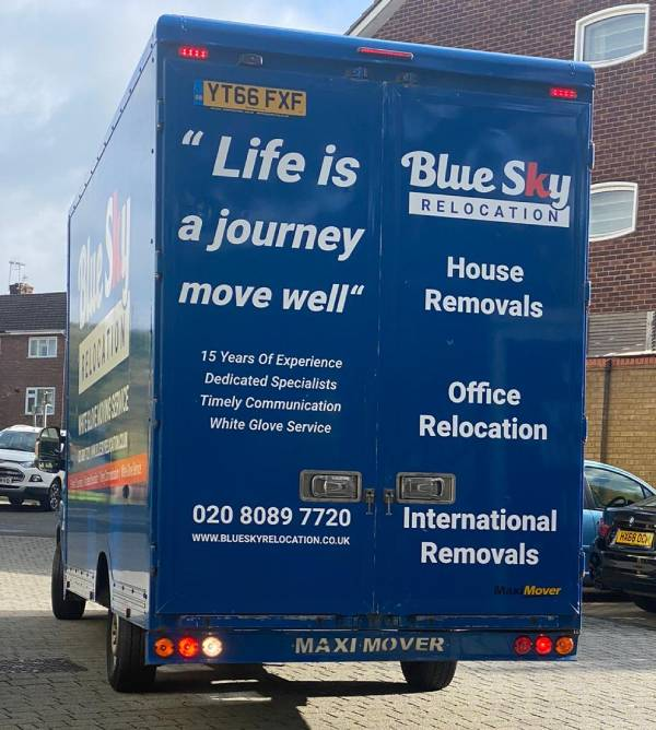 Modern vans and equipment - Professional removal company in Surrey